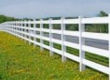 Kwikfynd Pvc fencing rostron